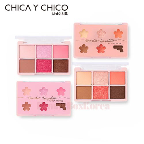 CHICA Y CHICO One Shot Eye Palette 9g [Spring Edition],CHICA Y CHICO